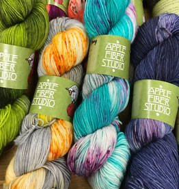 Apple Fiber Studio McIntosh sock/fingering by Apple Fiber Studio