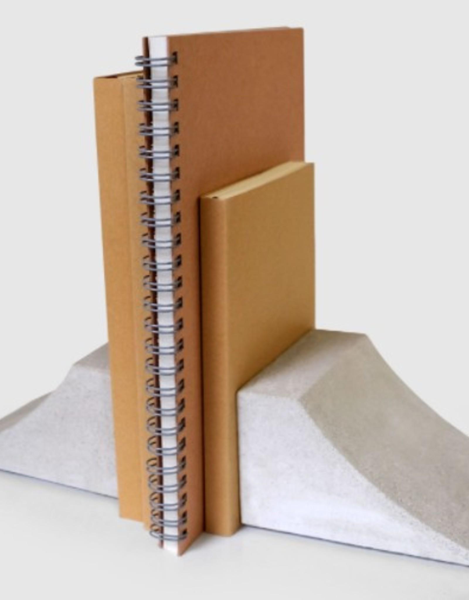 I LOVE HANDLES Book Launch concrete book ends