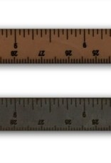 I LOVE HANDLES Leather Wrist Ruler