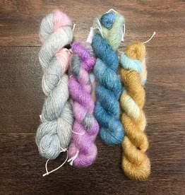 Delicious Yarns Gourmet: Silk Moahri Blend by Delicious Yarns