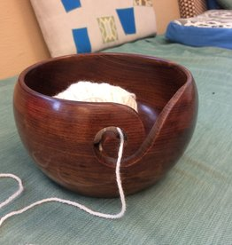 Aalta Yarn Wood Yarn Bowl by Aalta Yarn