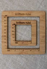 NNK press Gauge Swatch Measure