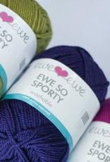 Ewe Ewe Ewe So Sporty by Ewe Ewe Yarns - Blues, Greens, & Purples