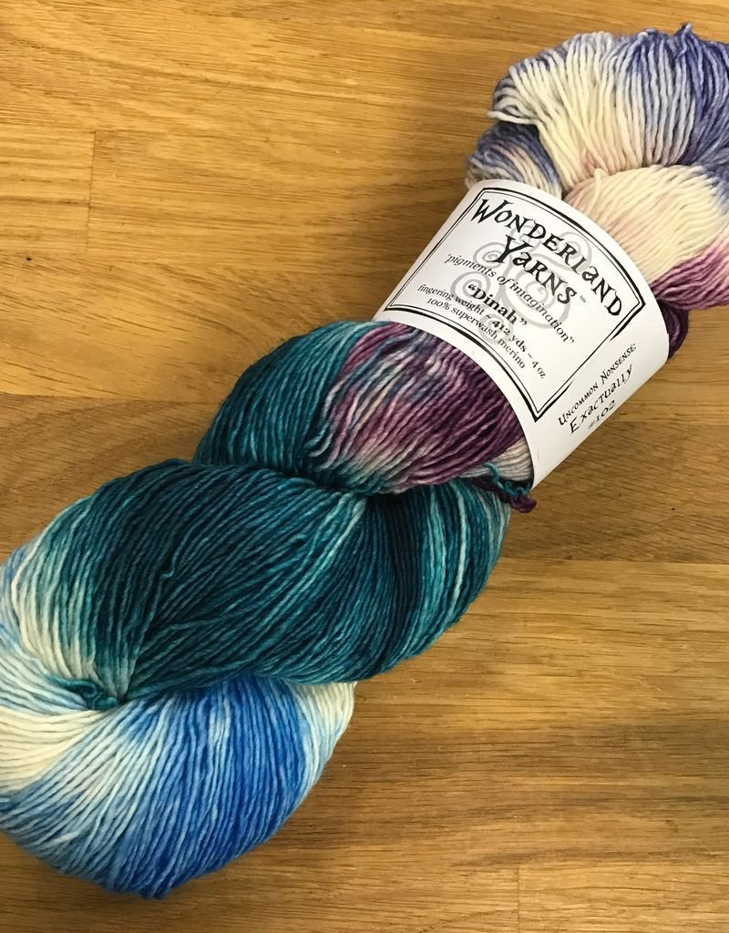 Wonderland Yarn Dinah by Wonderland Yarns - Variegated and Speckles