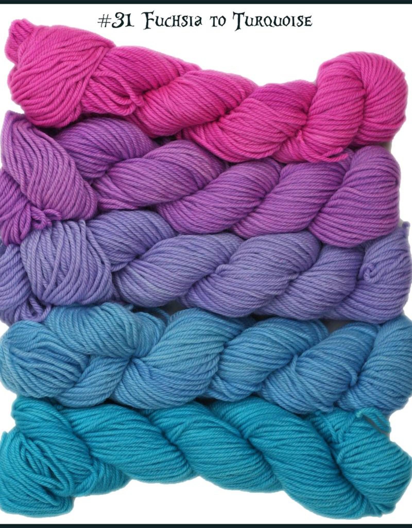 Wonderland Yarn Mad Hatter Mini Skeins - Color Morph