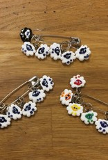 Ann Tudor Ann Tudor Glass Stitch Markers - Sheep
