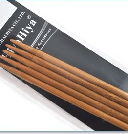 "Hiya Hiya HIya Hiya Bamboo Double Pointed 6"" Needle"