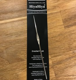 Hiya Hiya 13 US/0.9mm Hiya Hiya Nickel Plated Crochet Hook