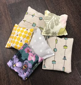 "Yarn it & Haberdashery Lavender Satchel Approx 4x4"""