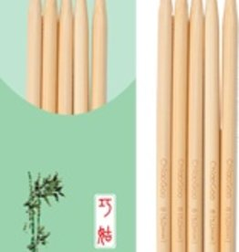 "ChiaoGoo ChiaoGoo 5"" Natural Bamboo Double Pointed Needles"