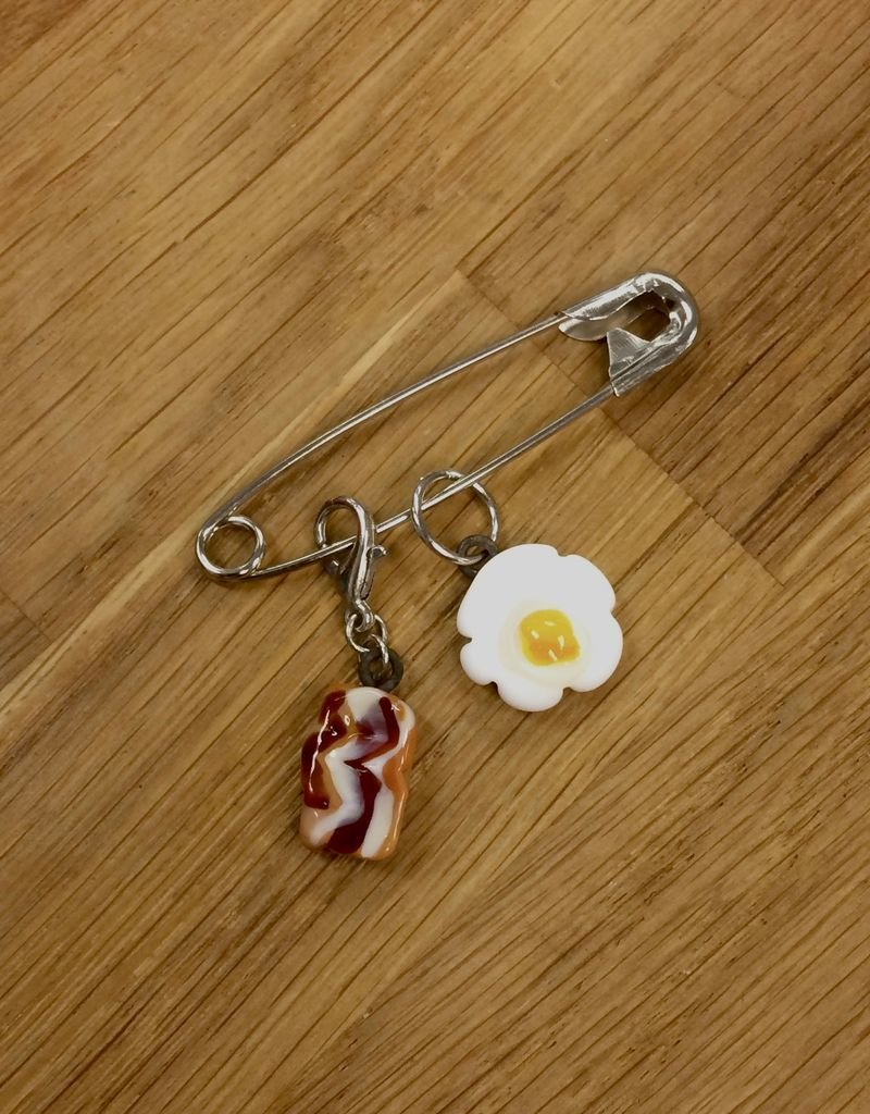 Ann Tudor Ann Tudor Glass Stitch Marker Duo