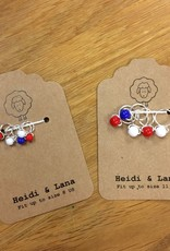 Heidi & Lana Heidi and Lana Stitch Markers - Patriotic