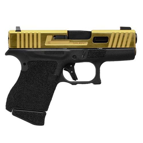 Salient Arms International Salient Arms Tier 1 Glock 43 9MM Gold