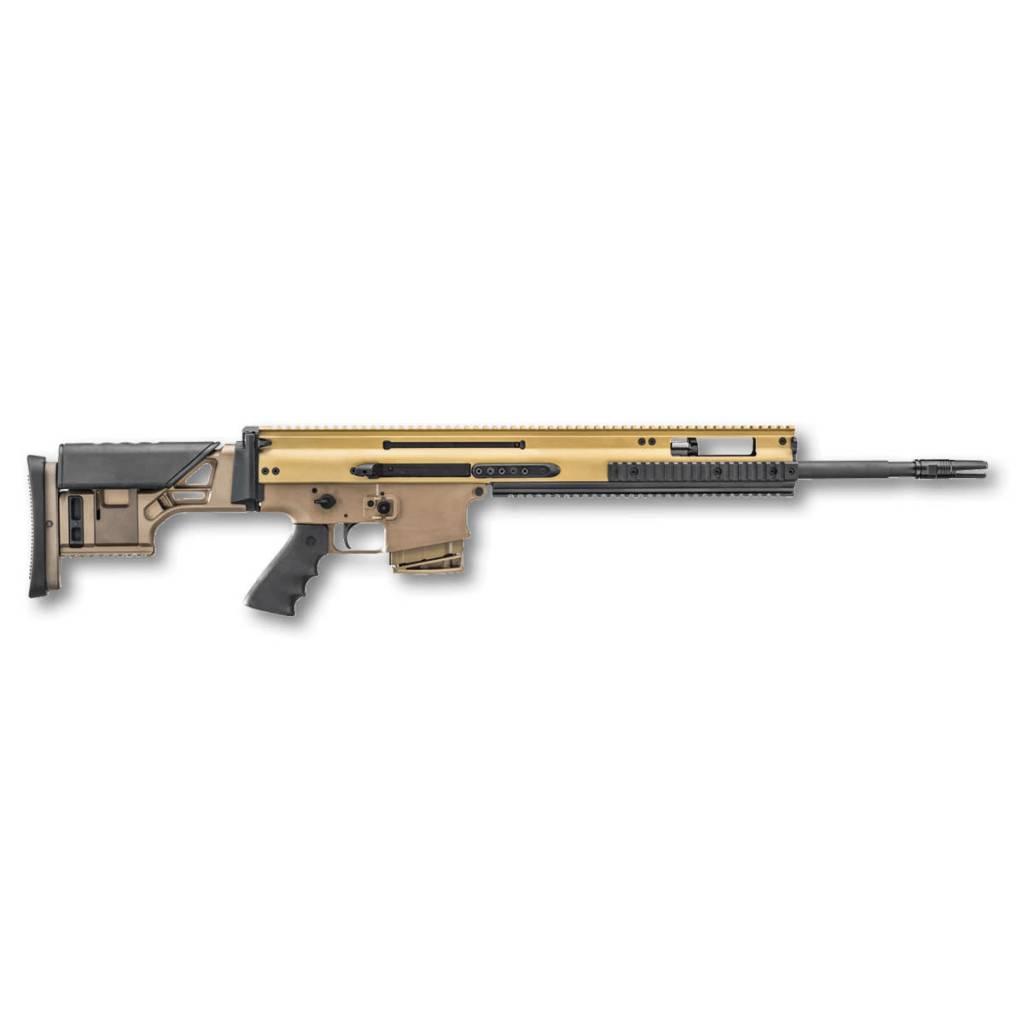 "FN America FN SCAR 20S .308 20"" 10Rd Geissele Trigger FDE CA Featureless"