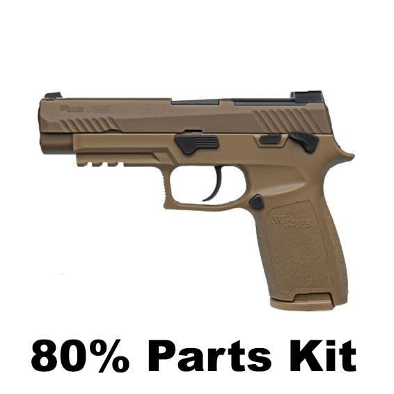 "SIG SAUER Sig Sauer P320 M17 9MM 4.7"" SIGLITE Sights Coyote (80% Parts Kit)"