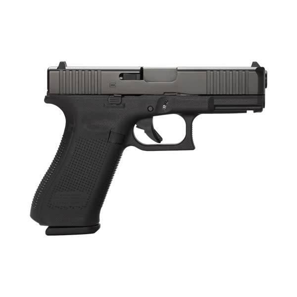 "Glock Glock 45 Gen5 9MM 4.02"" Night Sights Black (Blue Label)"