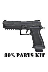 "SIG SAUER Sig Sauer P320 X-Five 9MM 5"" 21+1 Fiber Optic Sight Black (80% Parts Kit)"