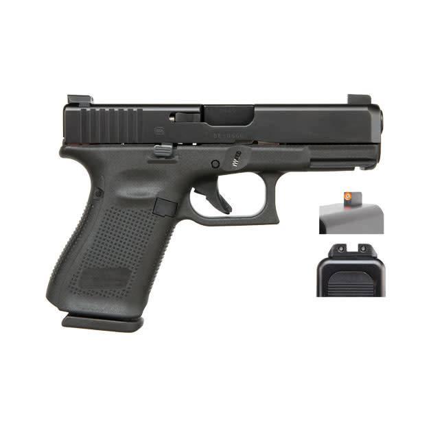 "Glock Glock 19 Gen5 9MM 4"" Ameriglo Sights Black (Blue Label)"