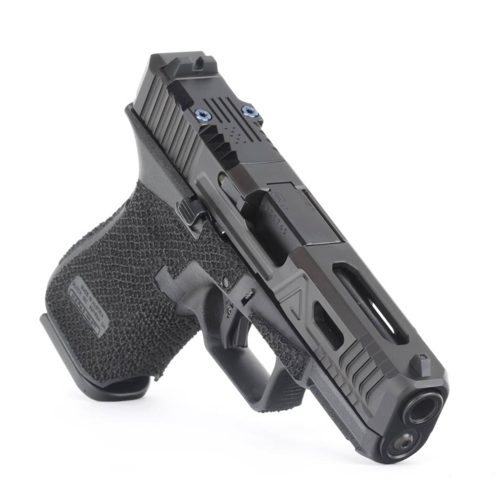 Agency Arms Agency Arms Glock 19 Gen5 Urban Combat DLC, Aggressive Stipple