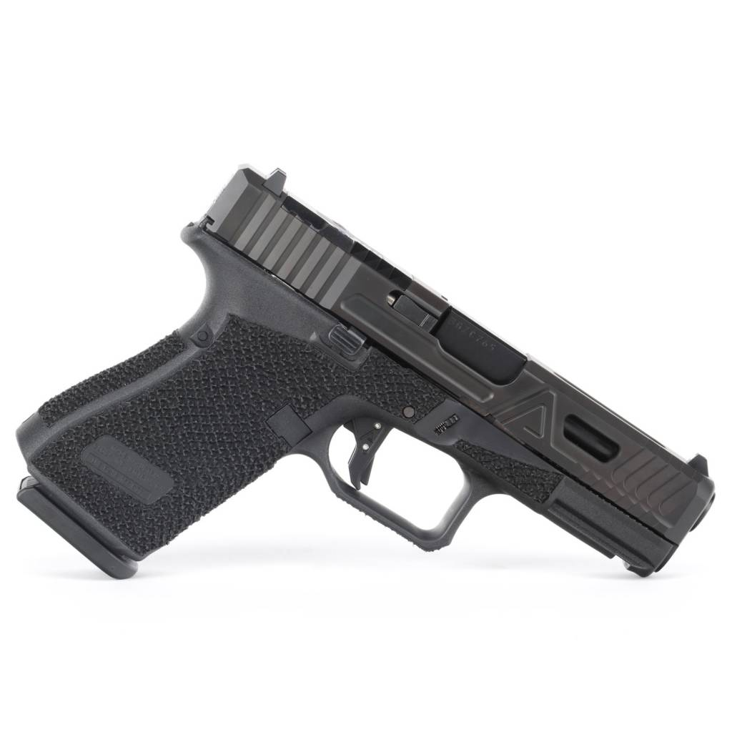 Agency Arms Agency Arms Glock 19 Gen5 Urban Combat DLC, RMR, Aggressive Stipple
