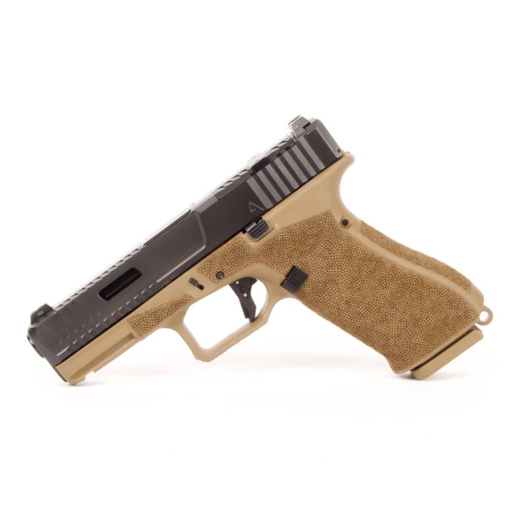 Agency Arms Agency Arms Glock 19X Peacekeeper DLC, RMR, Standard Stipple