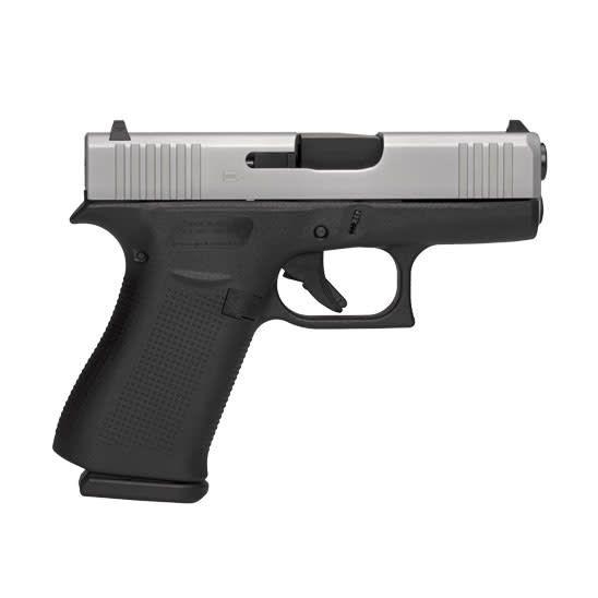 """Glock Glock 43X 9mm 3.41"""" 10+1 Fixed Sights (Blue Label)"""