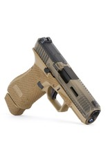 Agency Arms Agency Arms Glock 19X Peacekeeper Battle Worn Coyote, AOS, Aggressive Stipple