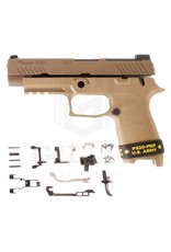 "SIG SAUER Sig Sauer P320 M17 Manual Safety 9MM 4.7"" SIGLITE Sights Coyote (80% Parts Kit)"