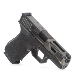 Agency Arms Agency Arms Glock 19 Gen5 Urban Combat Extra Serrations Polished DLC, AOS, Standard Stipple