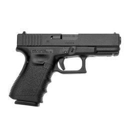 "Glock Glock 19 Gen3 9MM 4"" 10 Rd Fixed Sights Black CA"
