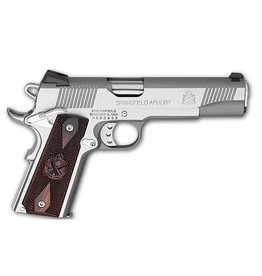 """Springfield Armory Springfield Armory 1911 Loaded Stainless Steel 45ACP 5"""" CA"""