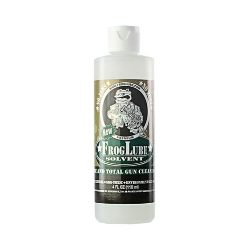 FrogLube FrogLube Solvent Non Toxic Biodegradable Firearm Treatment System 4 Ounce Bottle