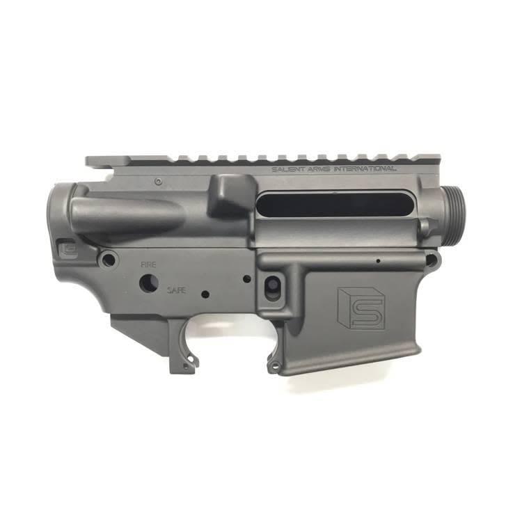 Salient Arms International Salient Arms International GRY AR-15 Receiver Set Black