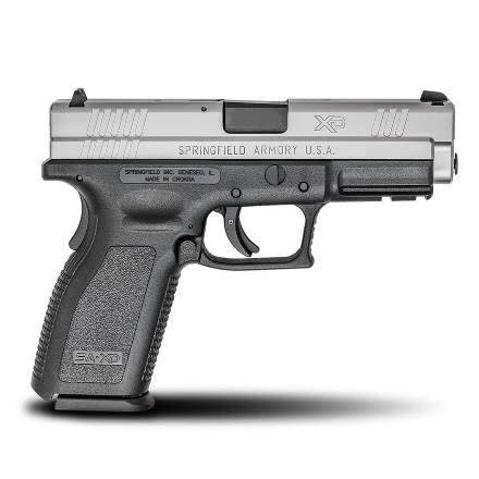 """Springfield Armory Springfield Armory XD Essentials Package 9MM 4"""" Bi-Tone CA"""