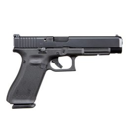 "Glock Glock 34 Gen5 MOS 9MM 5.3"" Ameriglo Night Sights Black (Blue Label)"
