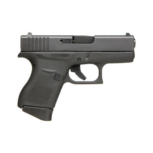 "Glock Glock 43 9MM 3.41"" 6Rd Fixed Sights Black (Blue Label)"