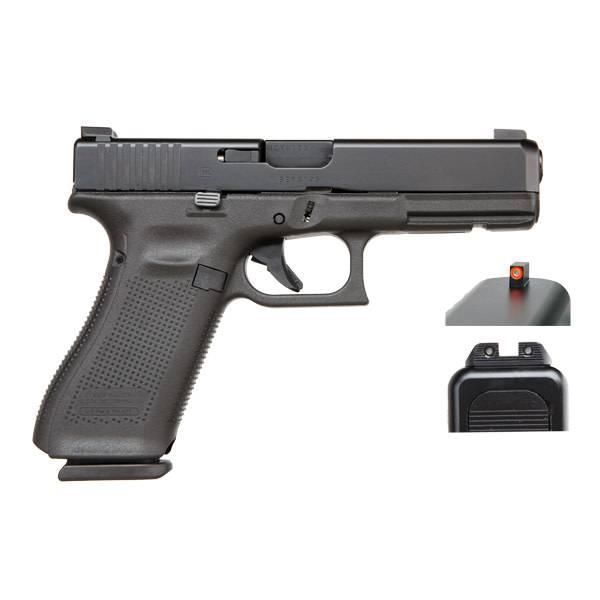 """Glock Glock 17 Gen5 9MM 4.48"""" AmeriGlo Black (Blue Label)"""
