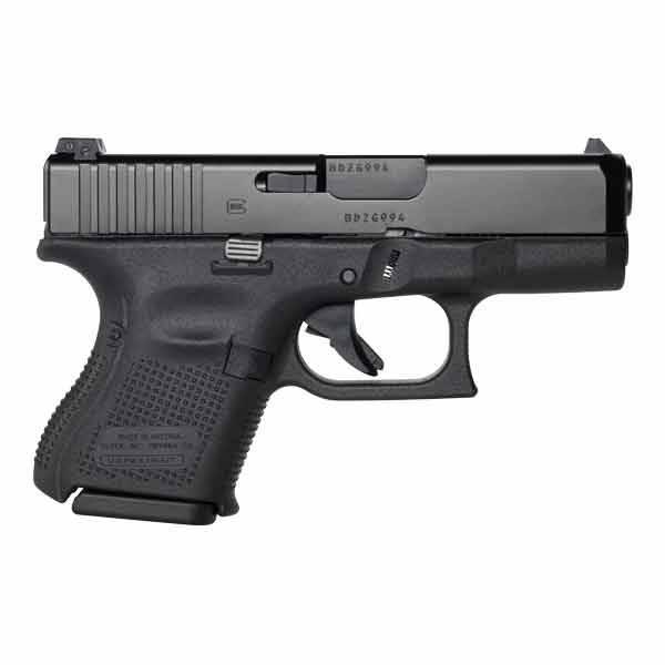 "Glock Glock 26 Gen5 9MM 3.5"" AmeriGlo Night Sights Black (Blue Label)"