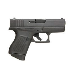 "Glock Glock 43 9MM 3.41"" 6Rd Night Sights Black (Blue Label)"