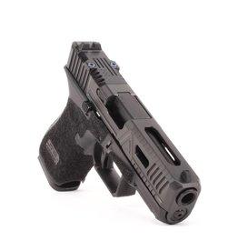 Agency Arms Agency Arms Glock 19 Gen5 Urban Combat Extra Serrations DLC, Standard Stipple