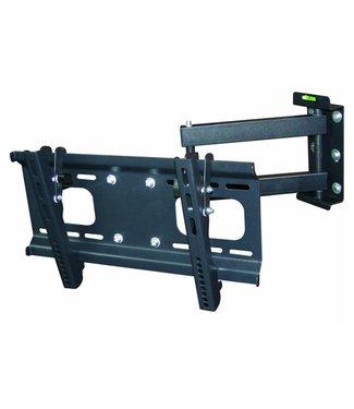 """Single Arm Articulating Swivel TV Mount- Full Motion 32-55"""" LED LCD PLASMA with Tilt"""
