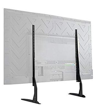 """Universal Flat Screen TV Table Top Stand / Base Mount Legs  fits TV Sizes  2"""" to 65"""""""