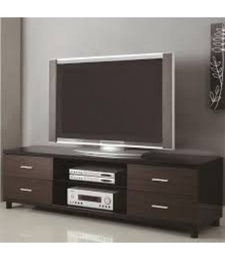 Coaster Ultra Long Two-Tone TV Console Media Stand 700826