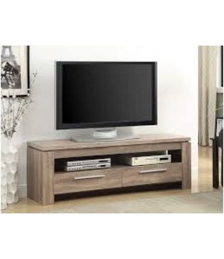 Coaster Transitional Weathered Brown TV Console Stand 701975