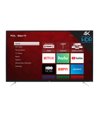 "50"" TCL 4K UHD (2160P)  LED Roku SMART TV with HDR - 50S423"