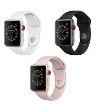 Apple Watch Series 3 42mm  Smartwatch Aluminum Case *GPS & Cellular *