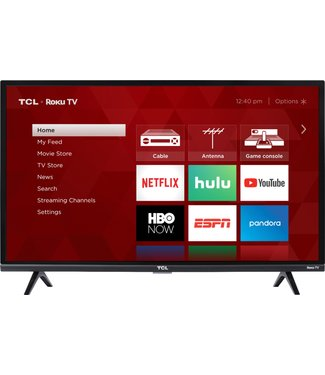 "TCL 32"" TCL HD 1080P ROKU Smart TV 32S323"
