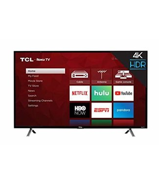 "TCL 43"" TCL 4K UHD (2160P)  LED Roku SMART TV with HDR - 43S405"