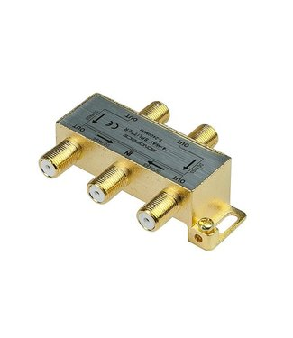 4-Way Coaxial Splitter 10015