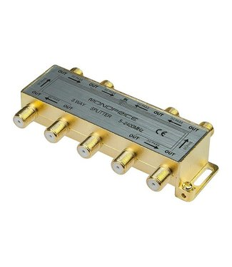 8-Way Coaxial Splitter 10017